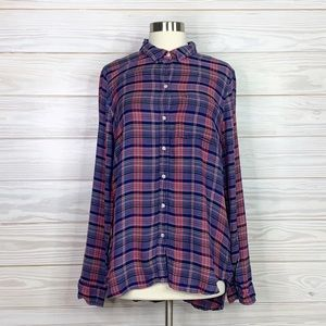 Lucky Brand Size M Woman's tops button down